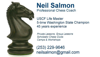 Neil Salmon business card